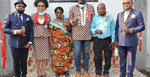 Inauguration d'un point d'eau à Ngiri-Ngiri, offert par la Fondation Tatete Vein Center