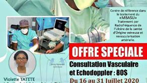 Consultations vasculaires - Juillet 2020