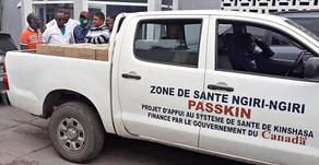 Don de la Zone de Santé Ngiri-Ngiri