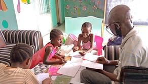 Les Enfants de Maman Violette Tatete - Les devoirs à domicile