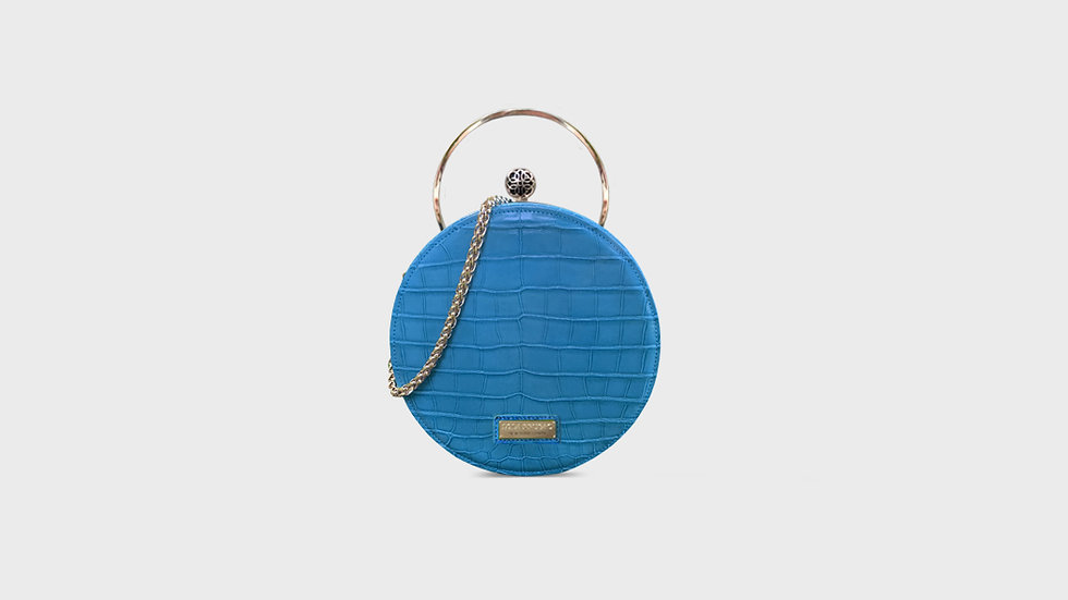 Lexi canteen bag in alligator