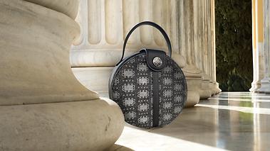 Lola Prusac Lexi Canteen handbag in wool