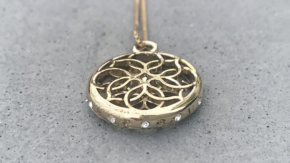 Lola Prusac medallion necklace