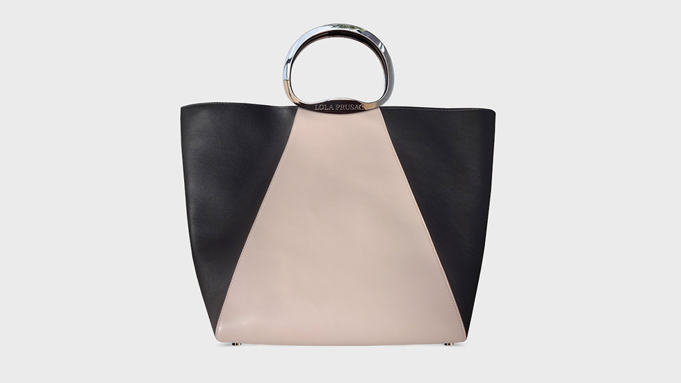 Bella tote in calfskin leather