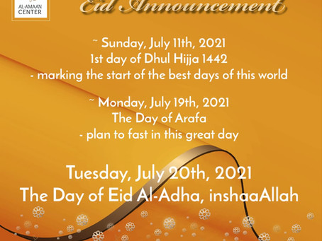 Eid Announcement