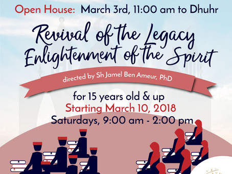Youth Mahad@ Al-Amaan Center: Revival of the Legacy | Enlightenment of the Spirit