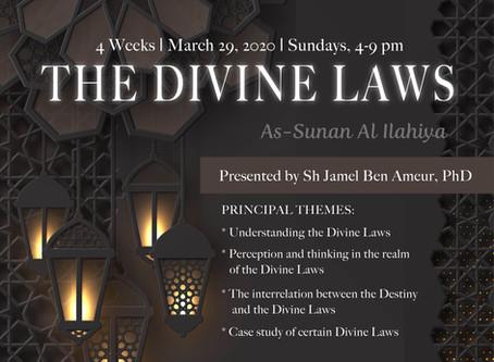 MAR 29: New IUMN Class: THE DIVINE LAWS