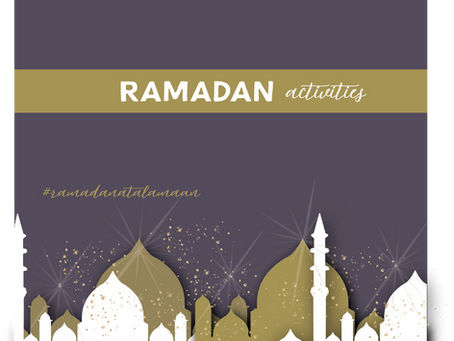 Updated: Ramadan Activities and Access Links