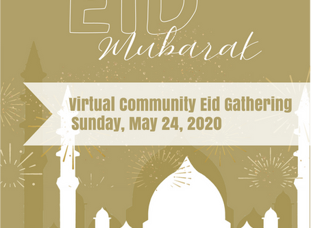 Virtual Eid Community Gathering Program from Al-Amaan Center.