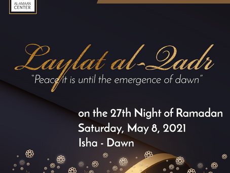 Laylat al-Qadr at Al-Amaan Center