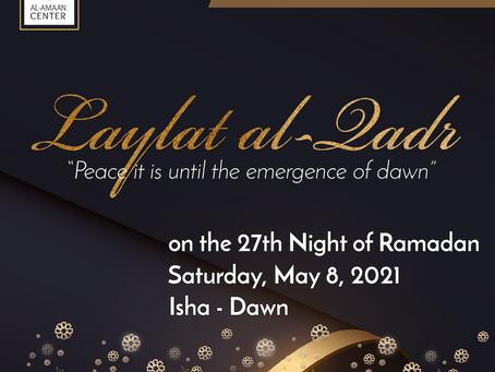 Laylat al-Qadr at Al-Amaan Center