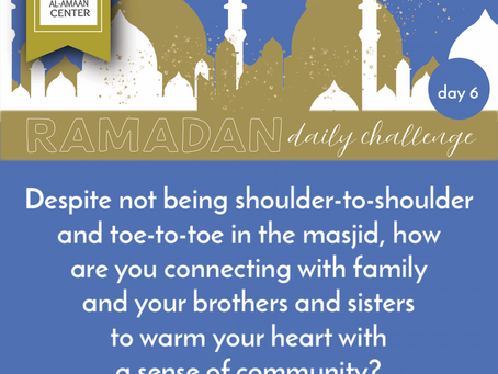 Ramadan Daily Challenge: Day 6