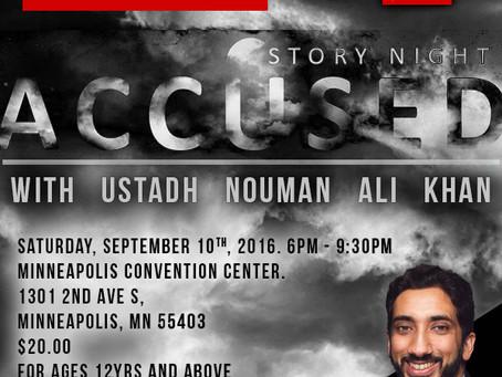"Bayyinah Presents Story Night: ""Accused"" by Ustadh Nouman Ali Khan"
