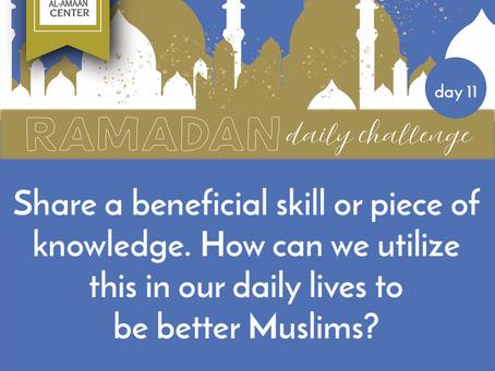 Ramadan Daily Challenge: Day 11