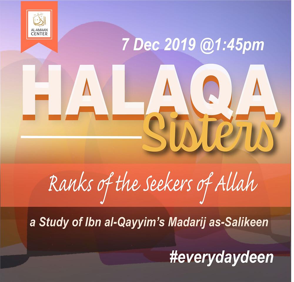 Al-Amaan Center's Sisters' Halaqa - Dec 7