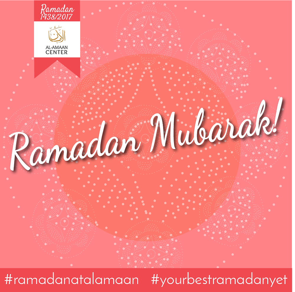 Join us as we celebrate each night, the blessed month of Ramadan!