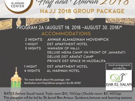 Hajj & Umrah 2018 with Dar El Salam Travel & Sh Jamel Ben Ameur