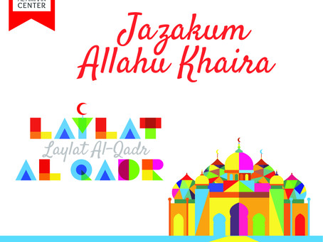 Jazakum Allahu Khaira