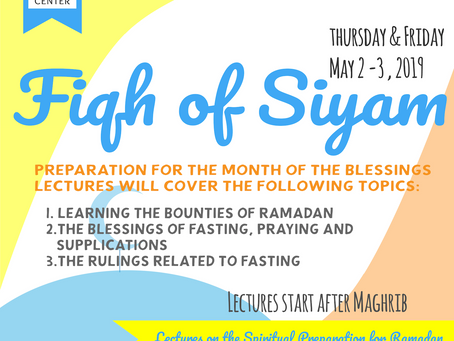 Preparation for the Month of the Blessings