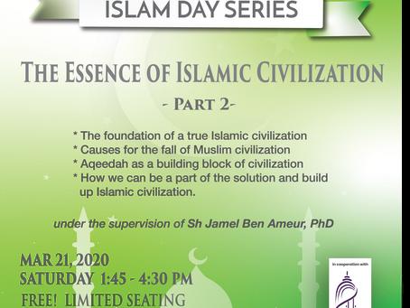 Next Islam Day Community Workshop: March 21