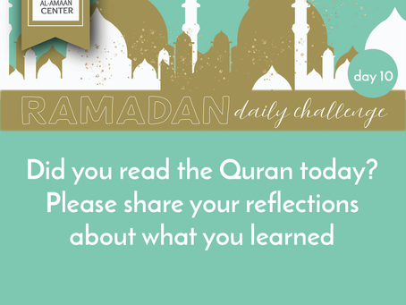 Ramadan Daily Challenge: Day 10