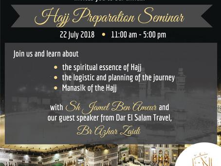 Hajj Seminar 2018