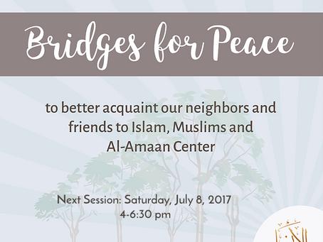 Bridges for Peace, July 8, 2017