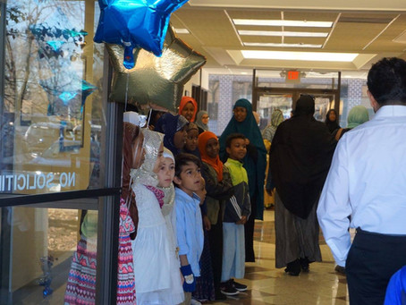 Our first jumuah in pictures