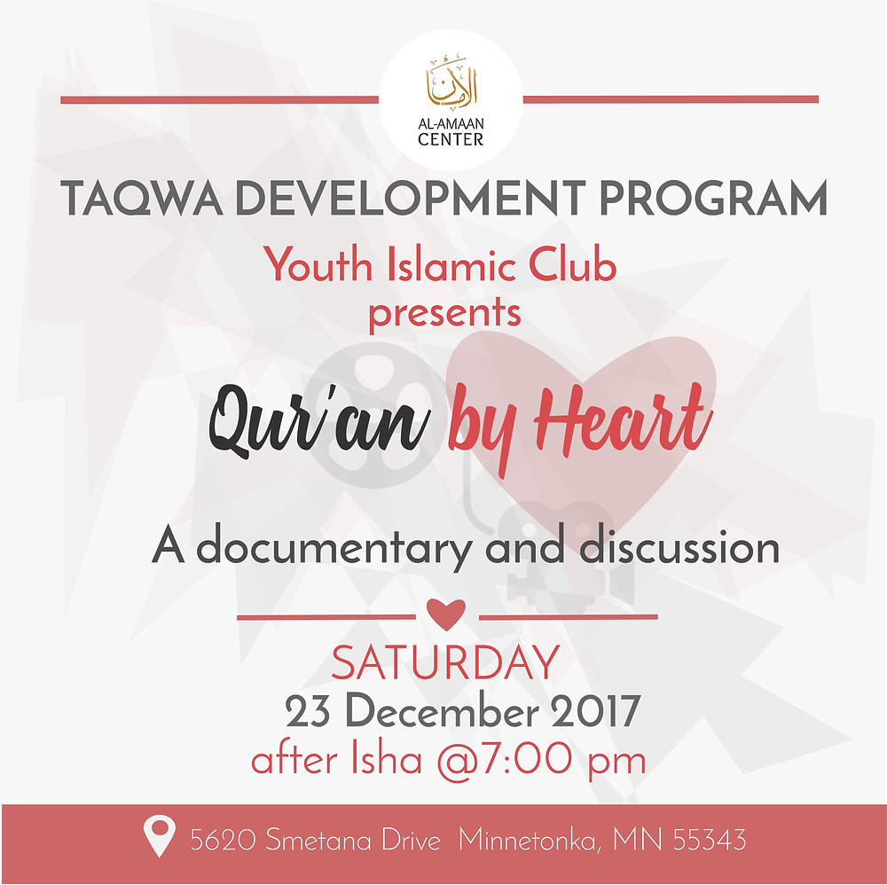 join us this Saturday for another YIC presentation.