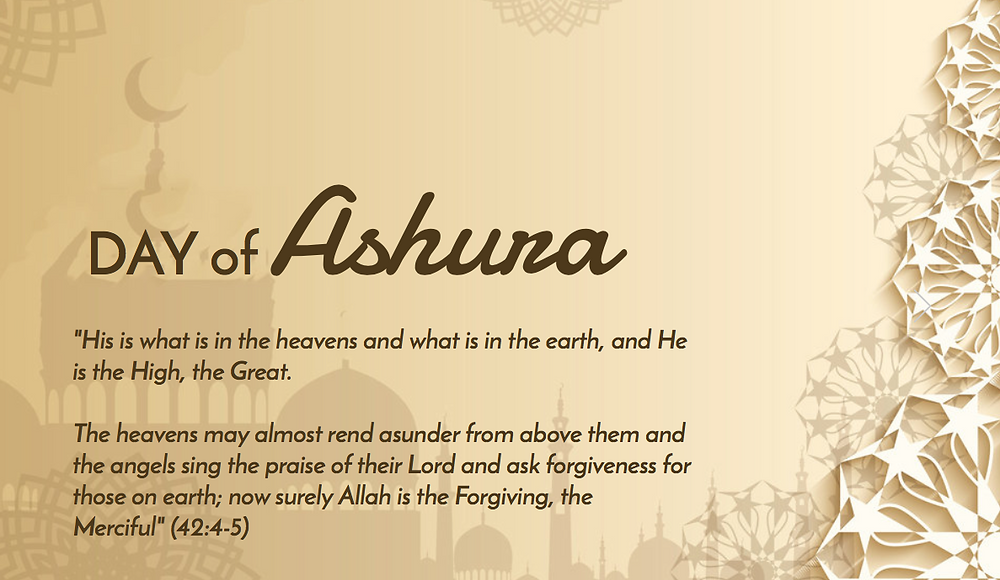 Today, Thursday, Sept 20 is  Day of Ashura.