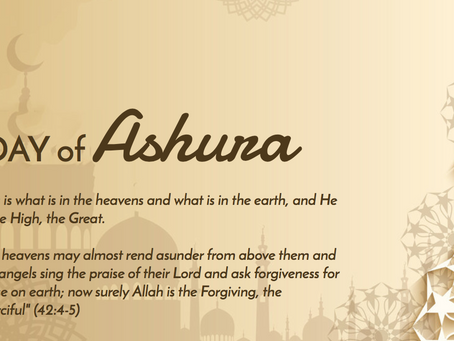 Today is Day of Ashura