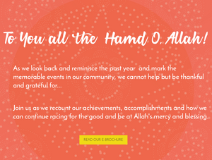 Read more about what we have become as a community and how we can strive to do more good, click here