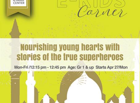 Online Kids Corner during Ramadan