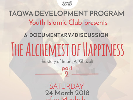 """YIC: Part 2 """"The Alchemist of Happiness"""""""