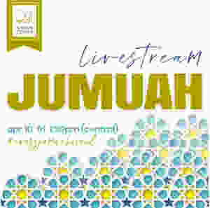 Livestream jumuah this Friday, Apr 10 @1:30pm! Learn more at alamaan.org