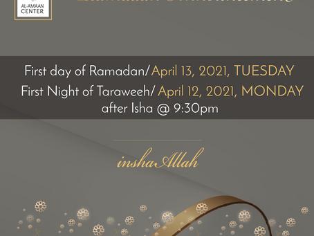 Ramadan At Al-Amaan