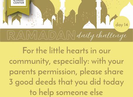 Ramadan Daily Challenge: Day 14