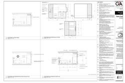 Centre Court Bathroom Plans & Elev