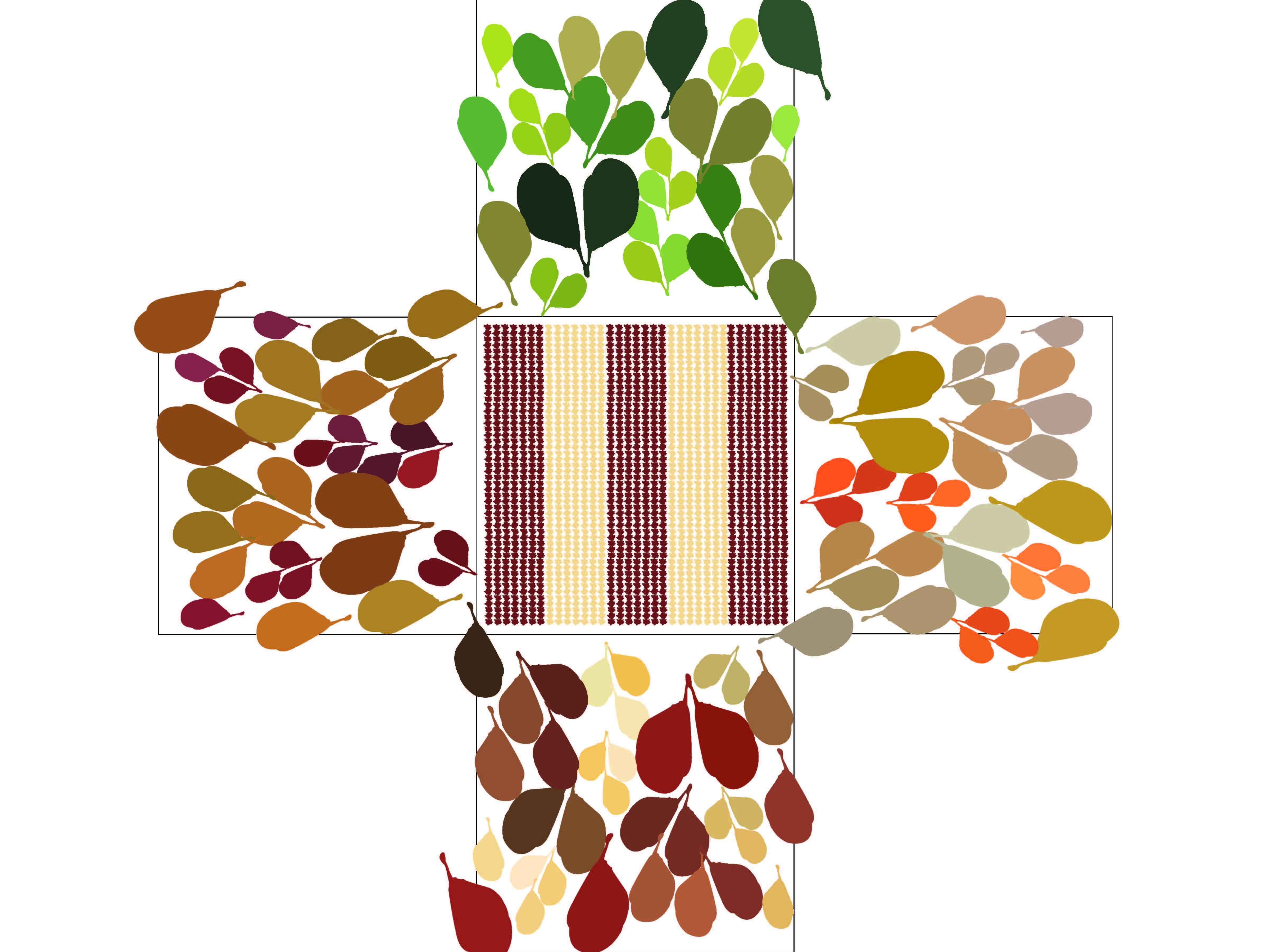 Pattern & Color Palette Combination