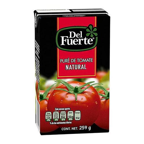 Puré de tomate Del Fuerte natural 259 g