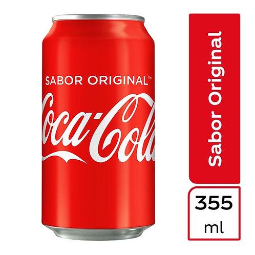Refresco Coca Cola lata de 355 ml