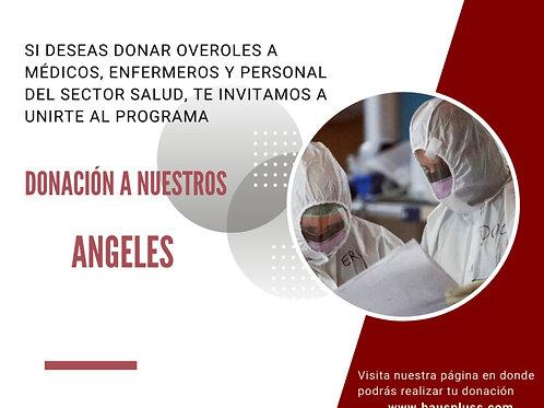 Donación de overol