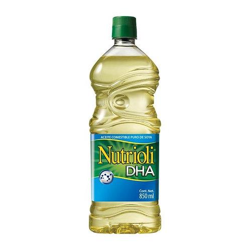 Aceite puro de soya Nutrioli DHA 850 ml