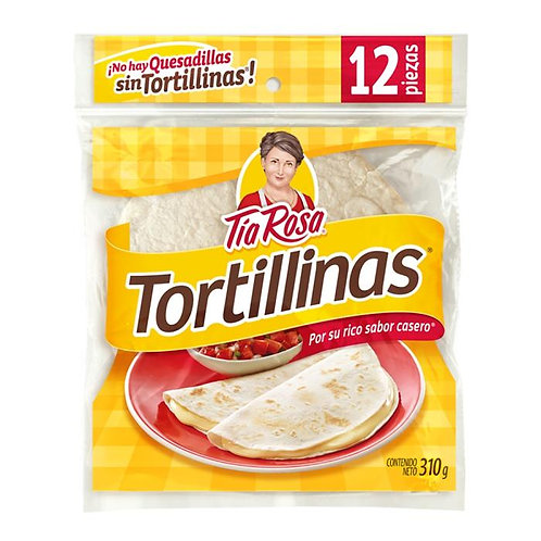 Tortillinas Tía Rosa de harina 12 pzas