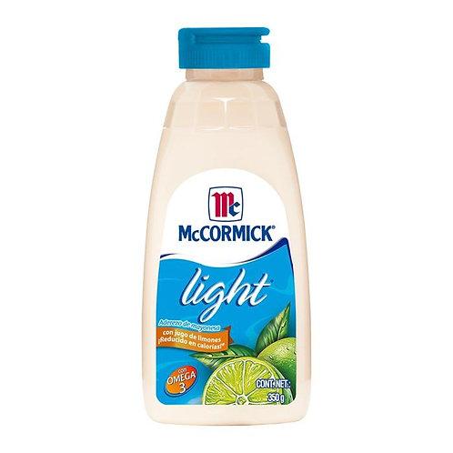 Mayonesa McCormick light con jugo de limón 350 g