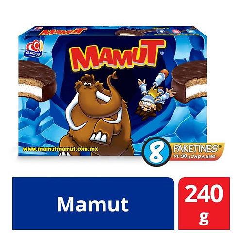Mamut Gamesa 8 paketines de 30 g c/u