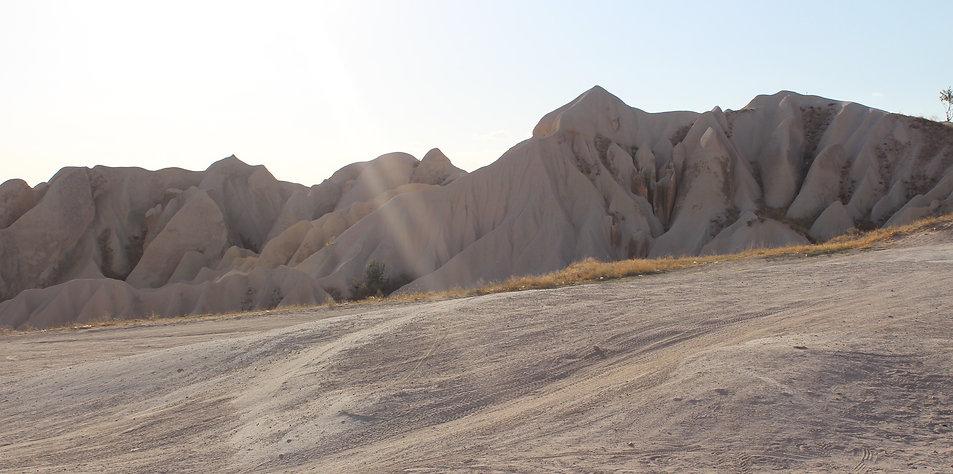 Un rayon de soleil au coeur des Cappadoces en Turquie