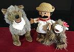 Borreguita and the Coyote Puppet Show Pi