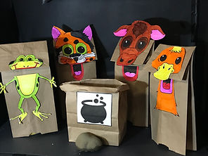 Paper Bag Puppet Pic for Stone Soup Pupp