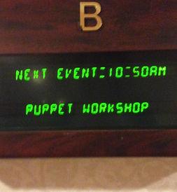 puppet teacher workshop